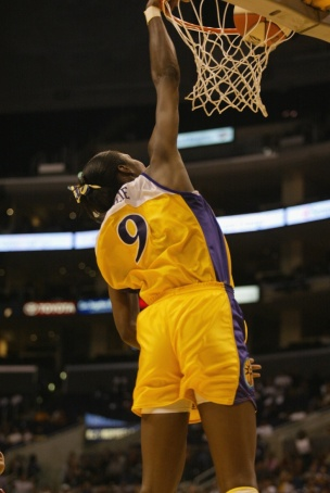 lisa leslie dunk