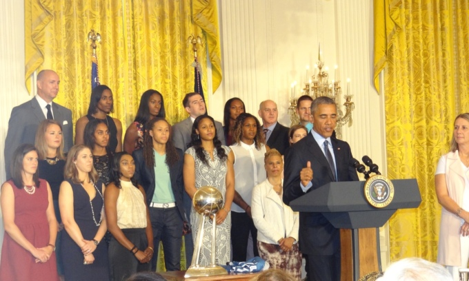 THE TIME THE LYNX WERE AT THE WHITE HOUSE…FOR THE THIRDTIME