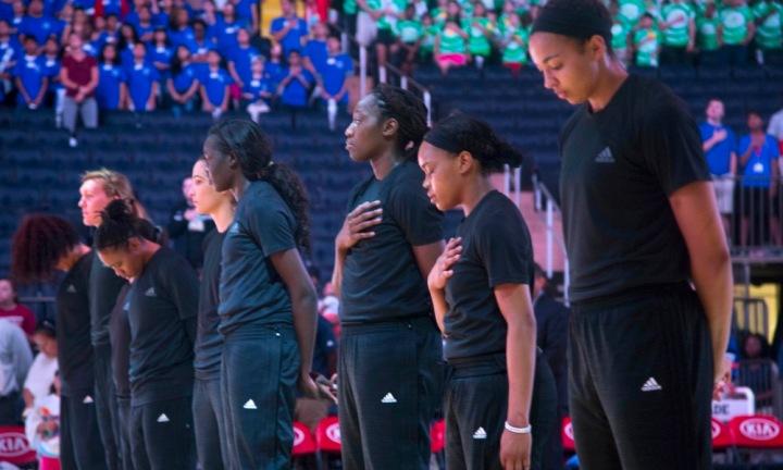 AP WNBA SOCIAL ACTIVISM S BKL USA NY