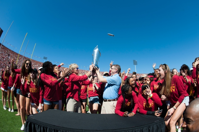 WOMEN OF TROY TAKE THE CUP