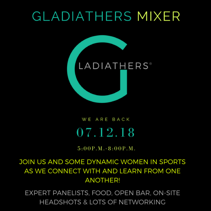 The Genesis of the Women in Sports Mixer