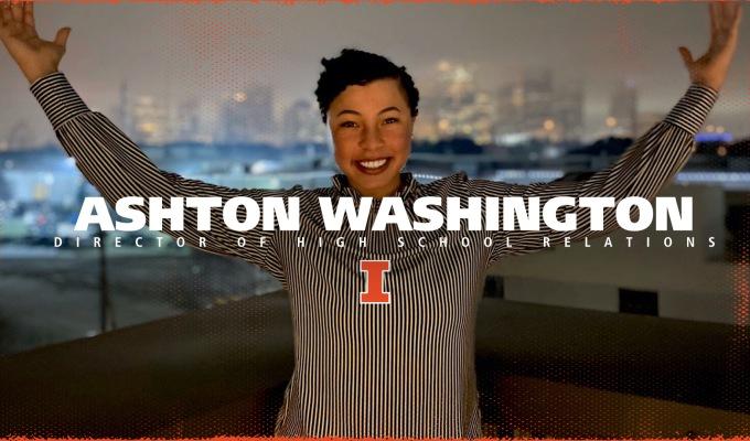 GladiatHers® Spotlight: Ashton Washington, University of Illinois — Director of High SchoolRelations