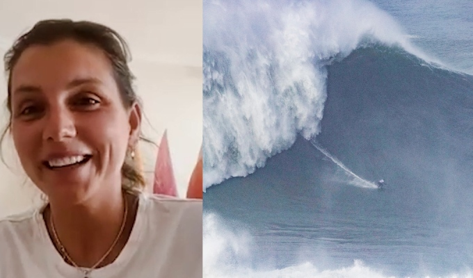 Maya Gabeira Breaks Guinness World Record for the Largest Wave Surfed By aWoman