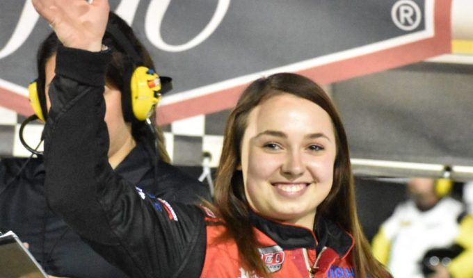 Gracie Trotter Makes History as the First Woman to Win ARCA-SanctionedRace