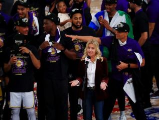 Jeanie Buss Becomes the First Female Owner to Win an NBAChampionship
